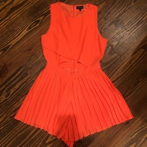 Top shop Pleated romper